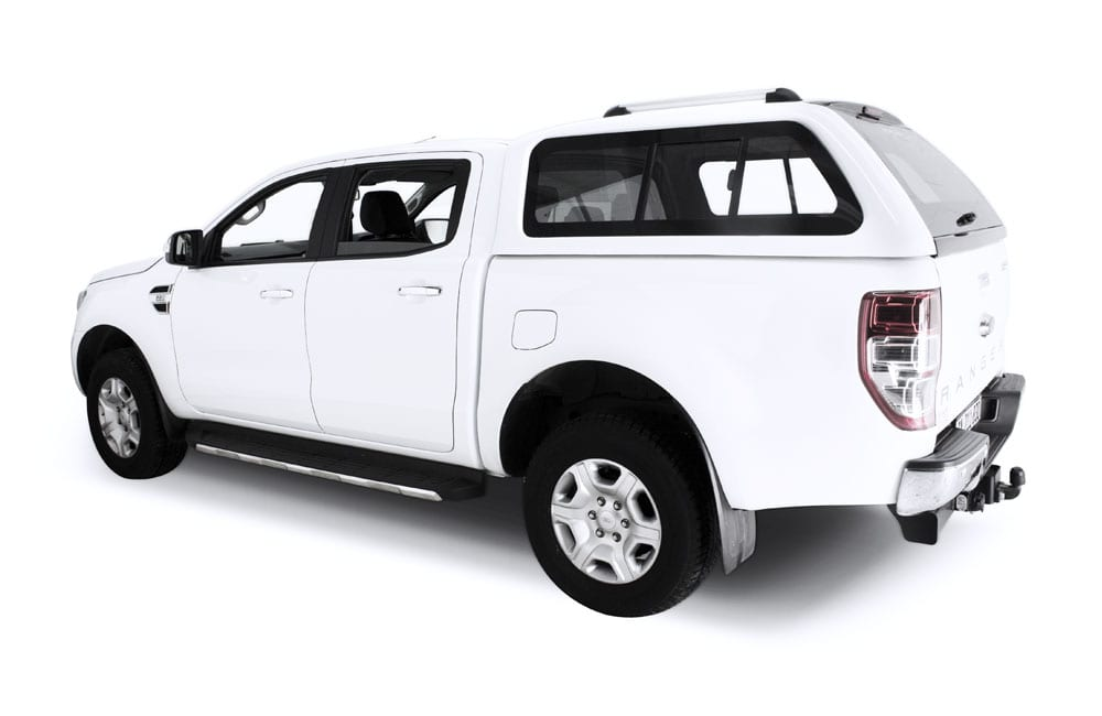 Ford Ranger Canopies Double Cab White